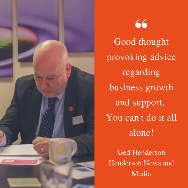 Ged Henderson 2019 Practitionership